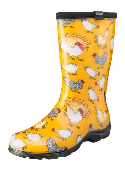 chicken boots fashion boots by sloggers waterproof comfortable