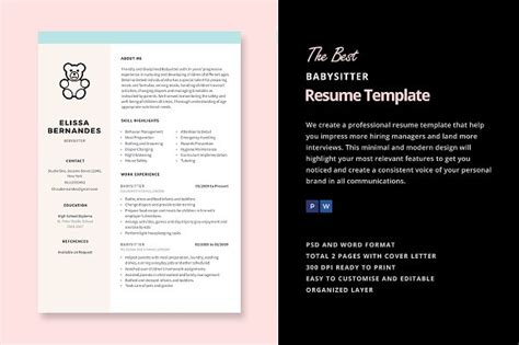 Babysitting Resume Templates by 18 Best Resume Sle Templates Wisestep