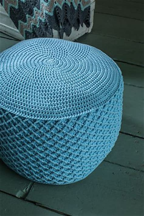 crochet pouf ottoman pattern 78 best images about crochet pouf patterns on pinterest