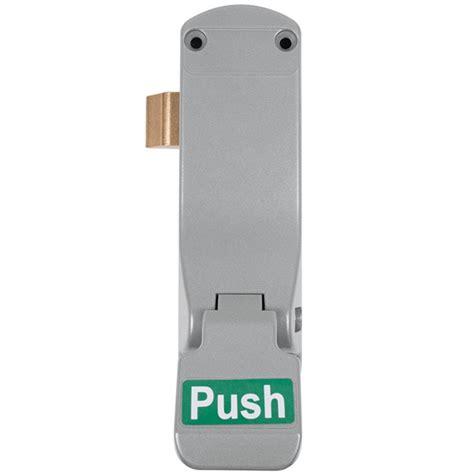 emergency push pad latch bellsure