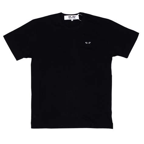Tshirt Play Work New Playclotink cdg play mens t shirt black play s
