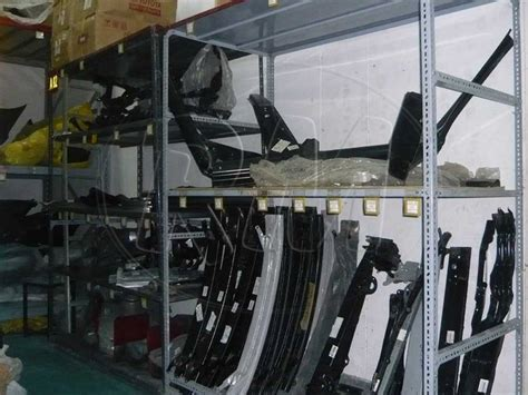 Rack Auto by Slotted Angle Silencers Rack In Bolt Fitting Rack Master