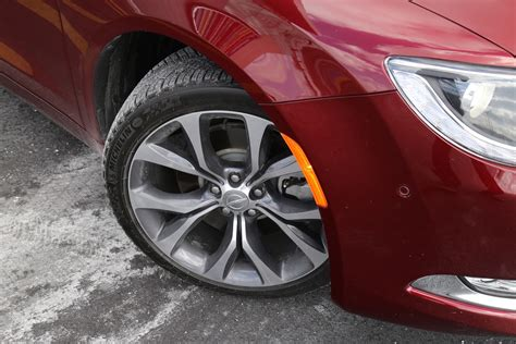 tire size for 2015 chrysler 200 review 2015 chrysler 200c awd canadian auto review