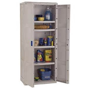 outdoor utility storage cabinet with 4 shelves taupe