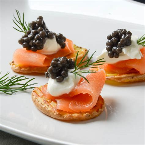 smoked salmon canap 233 s garlic zest