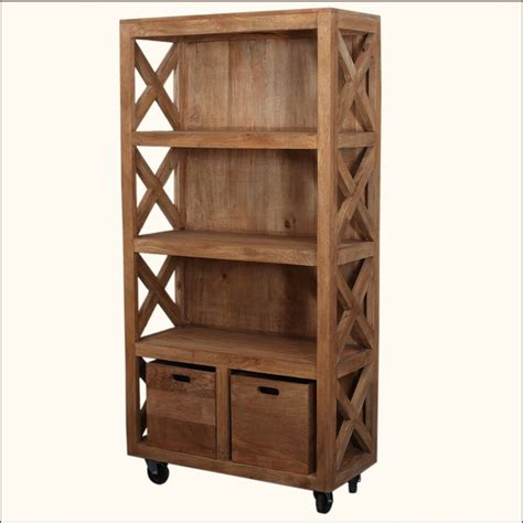 build a rolling bookcase doherty house