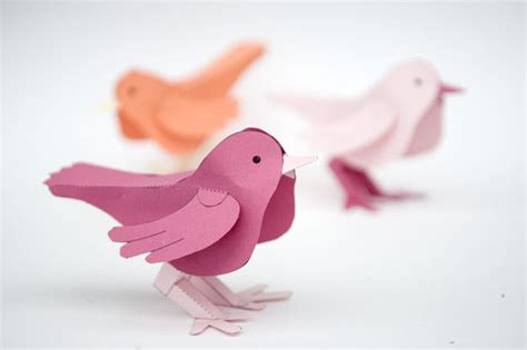 paper bird and make 5 steps with pictures