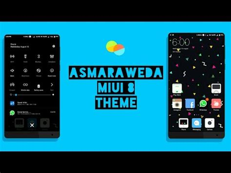 miui themes from third party miui 8 third party theme asmaraweda not available in
