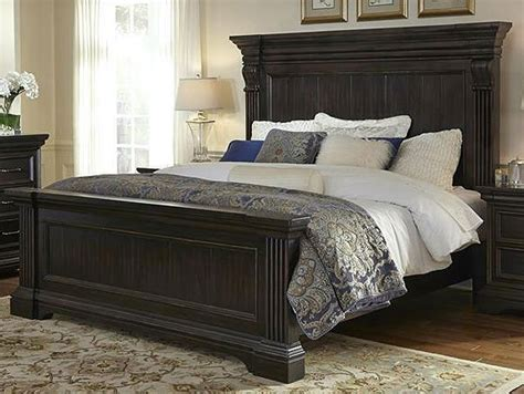 molasses classic traditional  piece california king bed bedroom set caldwell rc willey