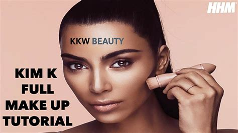 youtube tutorial kim kardashian kim kardashian full makeup tutorial 2017 youtube