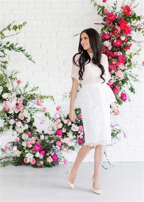 rachel parcell blog rachel parcell spring collection pink peonies my