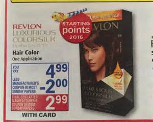 revlon hair color coupons loreal and revlon hair color just 1 64 a box at rite aid
