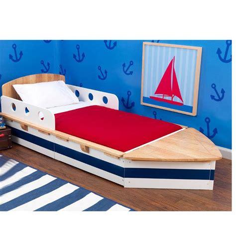 boat toddler bed plans pdf kids wooden boat bed plans diy trimaran plandlbuild