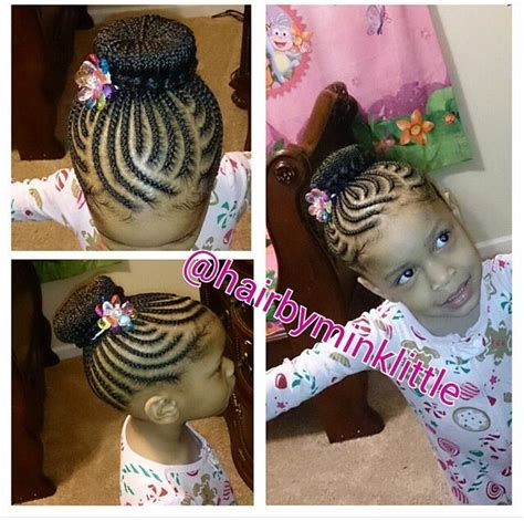 kids braids with bun 165 best images about natural kids cornrow buns on