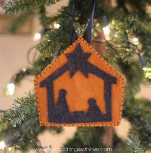 20 adorable felt ornaments do small things with love