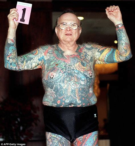 tattoo convention los angeles photos of tattooed seniors show how ink endures time