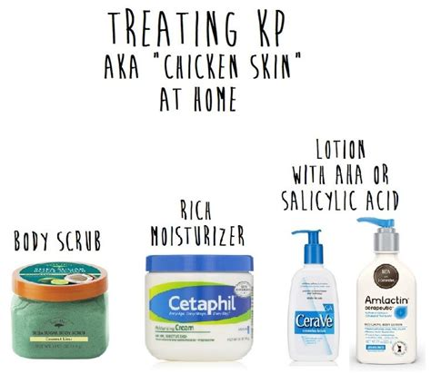 treating kp aka quot chicken skin quot at home hair care clogs