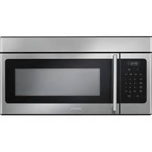 Microwave Over Cooktop Smeg 30 Inch Over The Range Microwave Stainless Steel