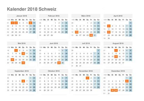 Kalender 2018 Excel Zum Ausdrucken Kalender 2018 Schweiz Ausdrucken Ferien Feiertage Excel