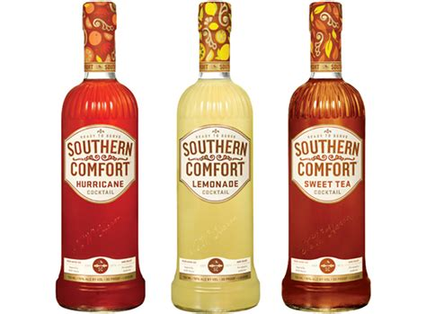 southern comfort flavor southern comfort on packaging design served