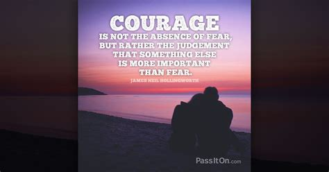 courage    absence  fear    judgement