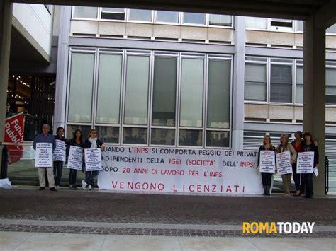 codice sede inps roma lavoratori igei scioperano sotto la sede dell inps ecco