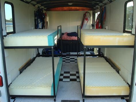Folding Rv Bunk Beds Rv Bunks Rv Folding Bunk Beds Enclosed Trailer Setups Page 10 Trucks