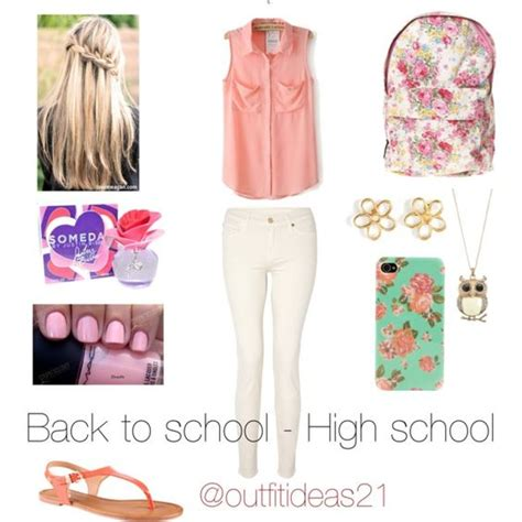 outfit idea   school high school outfit ideas