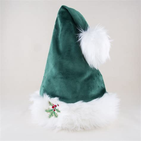 santa cool hat in green with snowman hoho hats