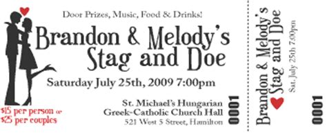 stag and doe ticket templates george 183 ous and tickets and invitations