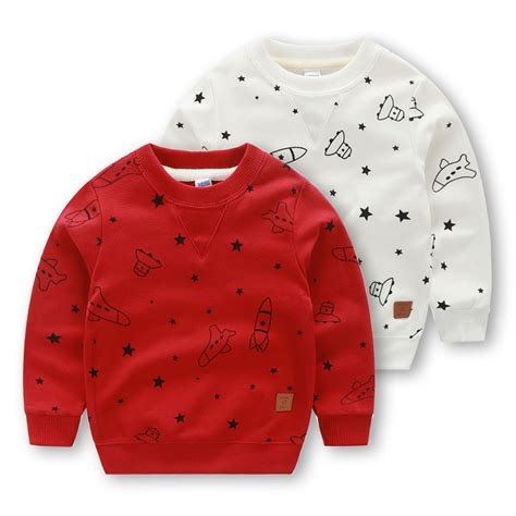 pattern print hoodies 2 6y boys girls outerwear clothing children cute pattern