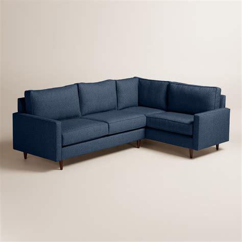 world market sectional chunky woven nashton left facing upholstered sectional
