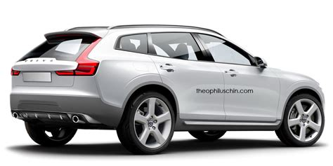 volvo built  bmw  rival  looked   carscoopscom