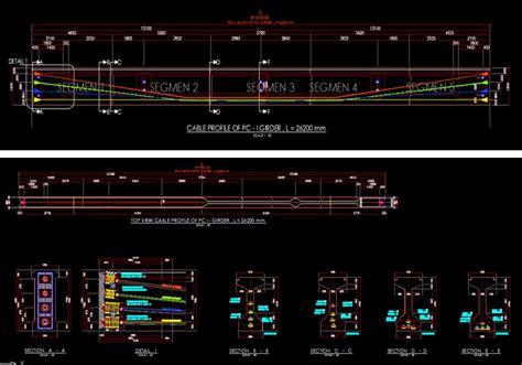 format file dwg apa gambar jembatan format autocad konsultan dan ilmu teknik