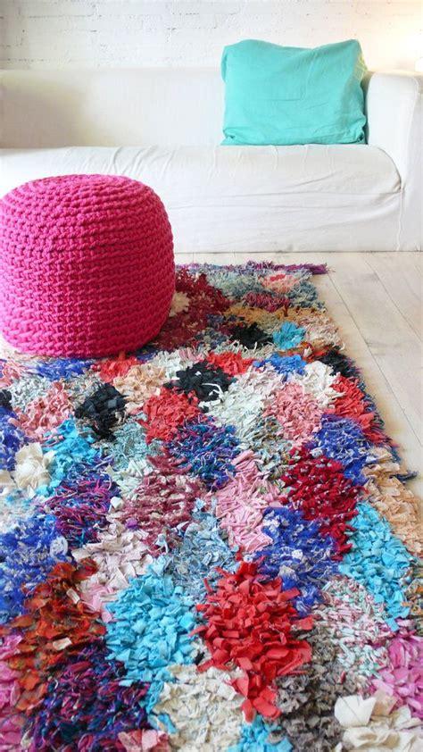 Boucherouite Rug Diy by Vintage Moroccan Rag Rug Boucherouite Quot Pink