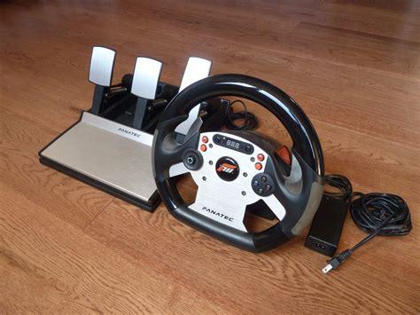 volante fanatec crs con pedales para xbox 360 1 999 00