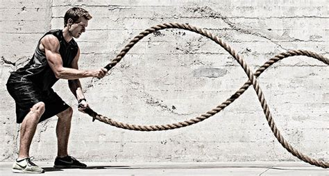 rope swing workout top 12 battle rope exercises for a killer body