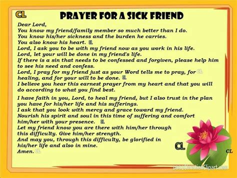 comforting words for a sick friend beautiful prayers pinterest prayer for a sick friend