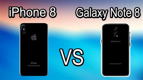Samsung Note 8 Vs Iphone 8 Plus Iphone 8 Vs Samsung Note 8 It Code Academy
