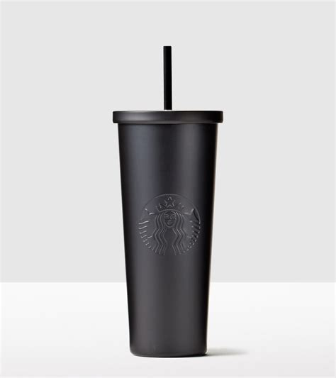 Starbucks Tumbler Black Mate Cold Cup Stainless Steel Logo starbucks coffee tea drinkware starbucks 174 store