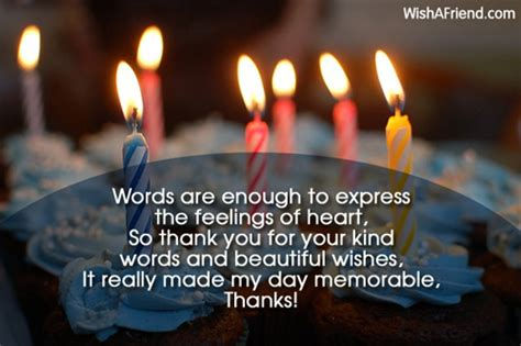 Thank You For The Birthday Wishes Quotes Thank You For Birthday Wishes Quotes Quotesgram