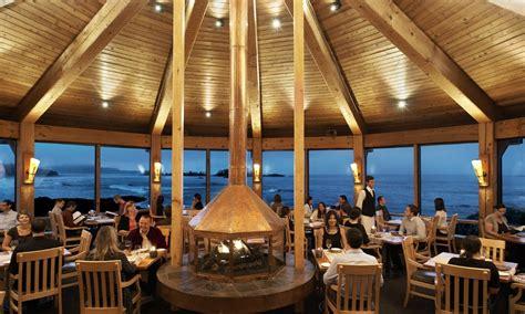 Kitchen Bar Island by The Pointe Restaurant Wickaninnish Inn Tofino Canada