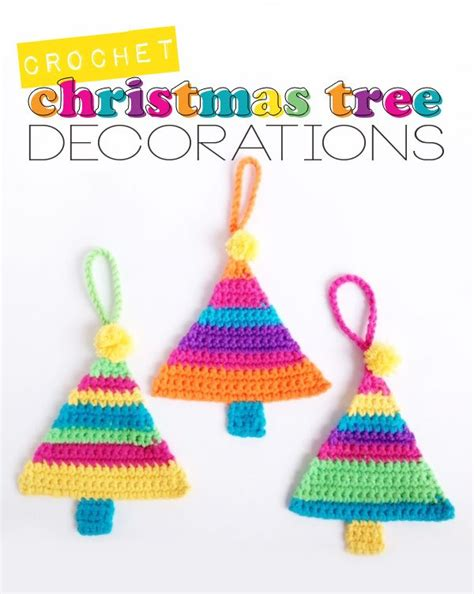 pattern for christmas tree lights free pattern christmas tree decorations crochet