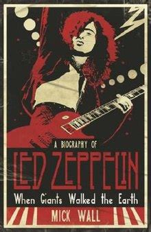 led zeppelin biography in english when giants walked the earth wikipedia