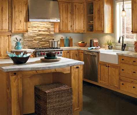 rustic kitchen cabinets rustic kitchen by aristokraft featured masterbrand