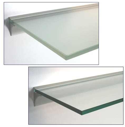 regal 90x40 glasregal 10mm wandregal profil lino10 silber 13 gr 246 223 en