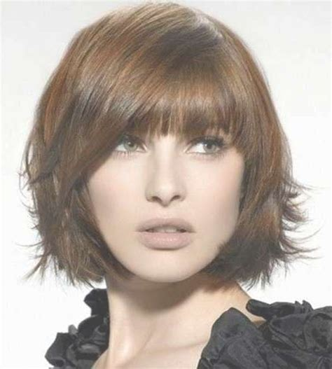 Hairstyles With Bangs For Thick Hair by 15 Photos Bob Haircuts For Thick Hair With Bangs