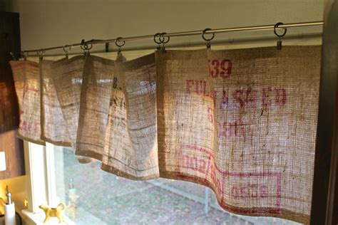 kitchen curtain ideas diy easy diy crafts you can do with burlap