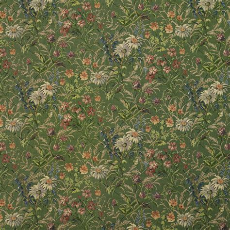blue and green upholstery fabric green burgundy and blue garden floral tapestry upholstery