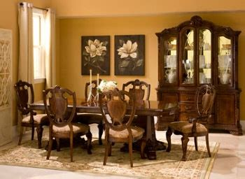 raymour and flanigan china cabinet dining room set raymour flanigan old world full set w